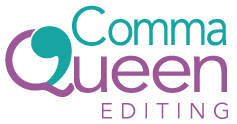 Comma Queen Editing